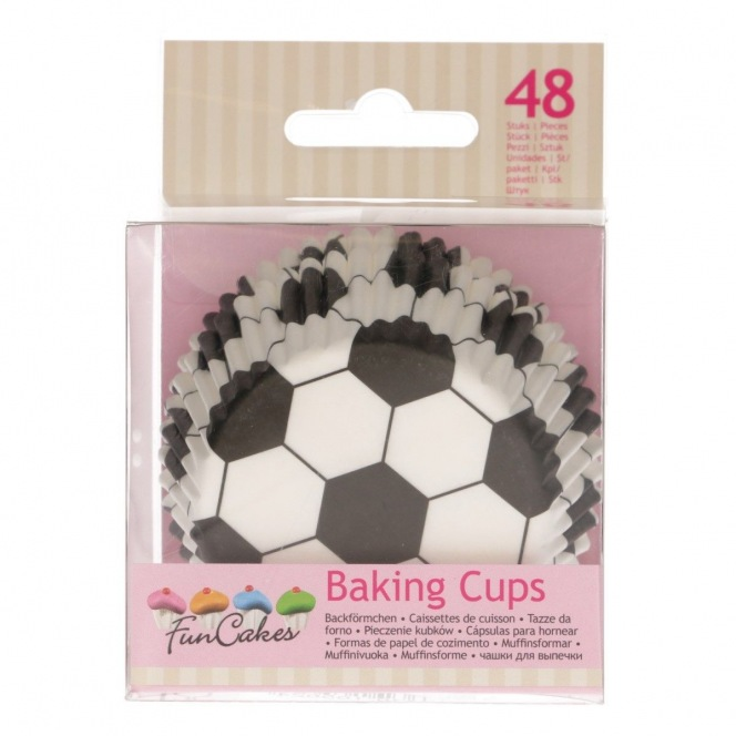 Baking cup - Soccer - 50pc - Wilton