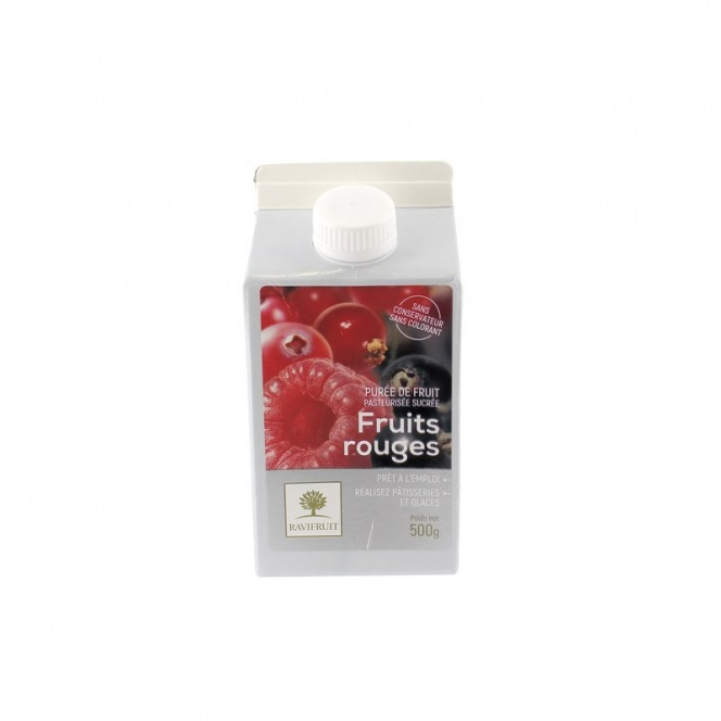 Forest Fruits Purée - 500g - Ravifruit