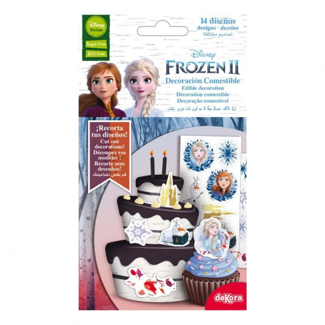 Dekora - 14 Edible decorations - Frozen 2