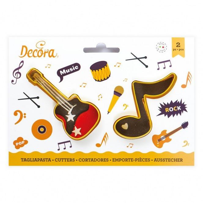 Guitar & Music Note Cutters - Decora