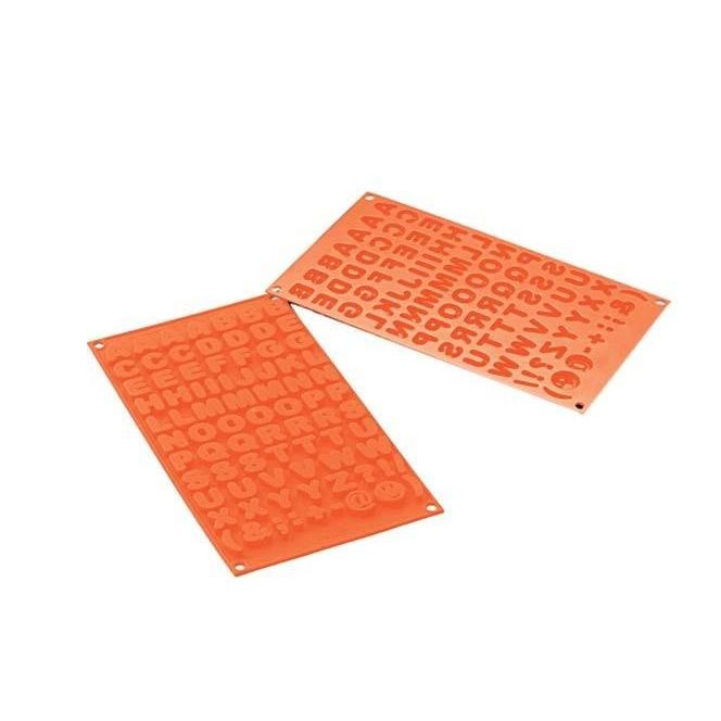 Silicone Mold - Choco ABC - Silikomart
