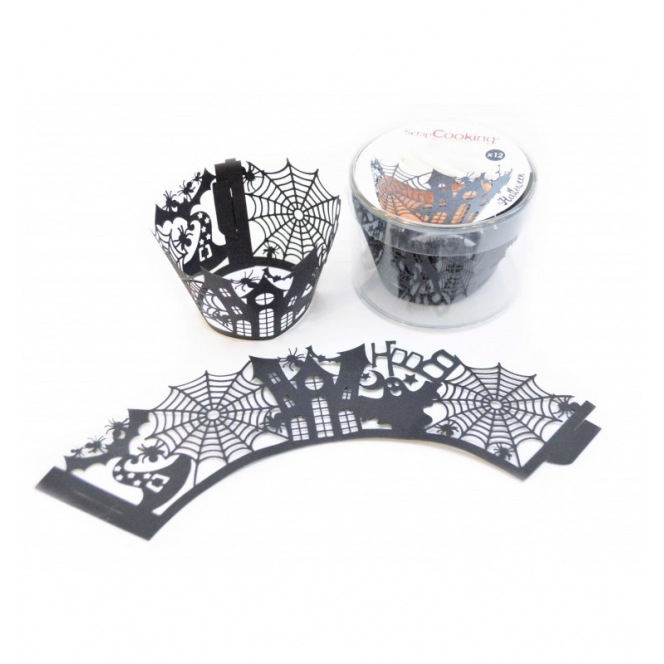 Halloween Cupcake Wrappers - 12pcs - Scrapcooking