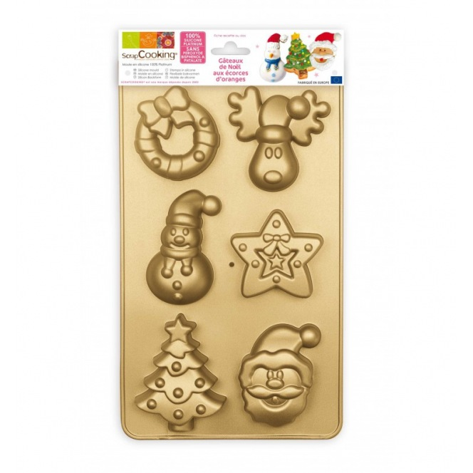 Silicone Mould - Multi Christmas - Scrapcooking