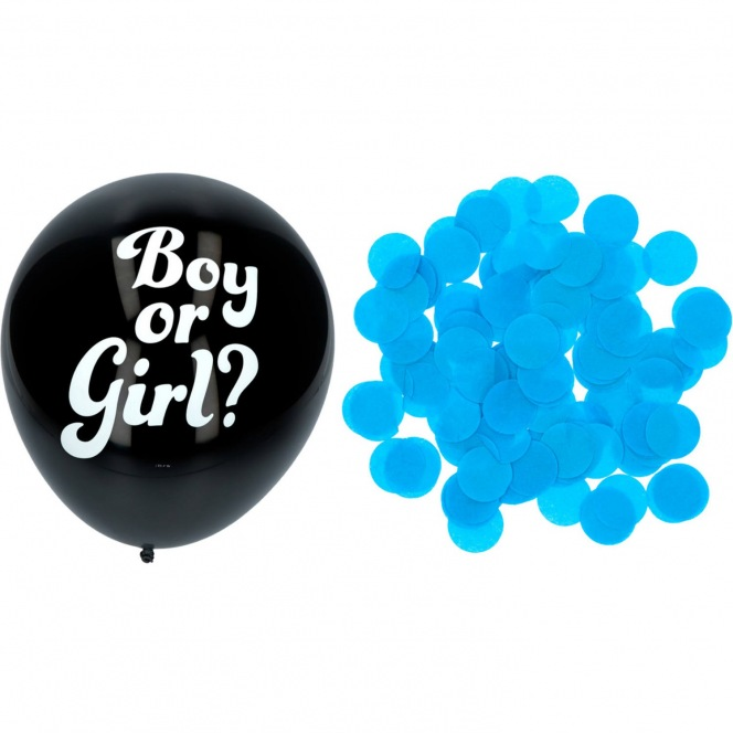 Gender Reveal Balloon BOY - 41cm/3pcs - Folat