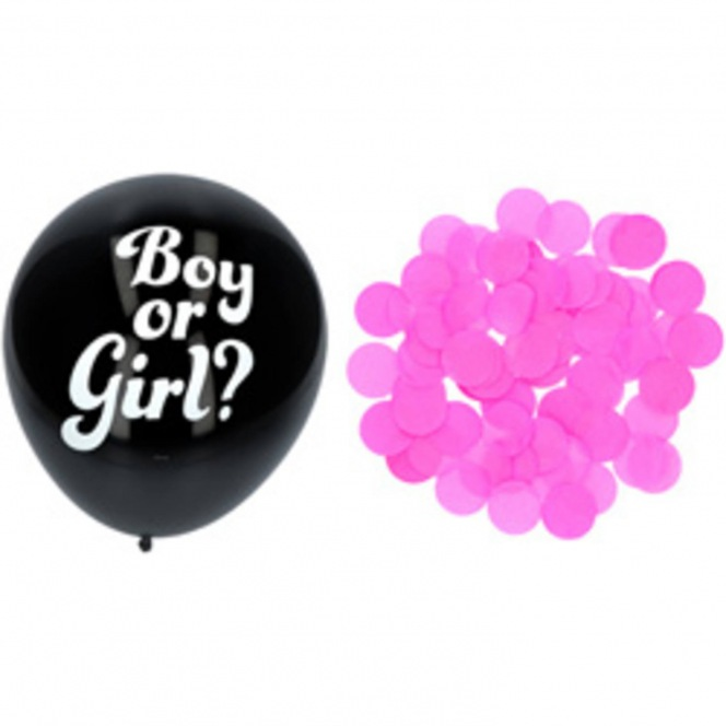 Gender Reveal Balloon GIRL - 41cm/3pcs - Folat