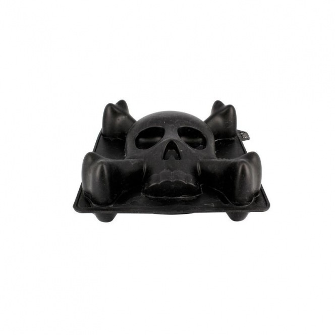 Silicone Mould - 3D Skull Small - Patisdécor