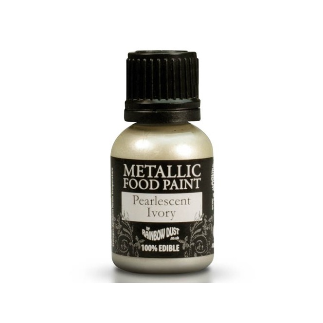 Metallic Paint - Ivory - Rainbow Dust