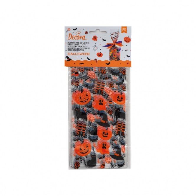 20 Candy Bags - Halloween - Decora