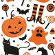20 Candy Bags - Halloween - Decora