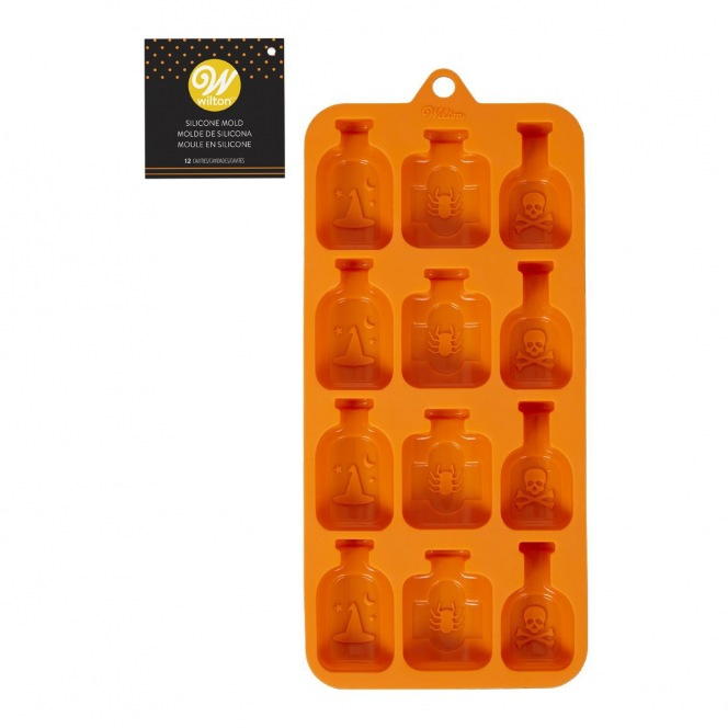 Silicone Candy Mold Bottles - Wilton