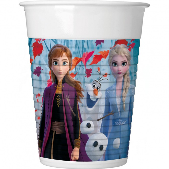 8 Cardboard glasses - Frozen 2