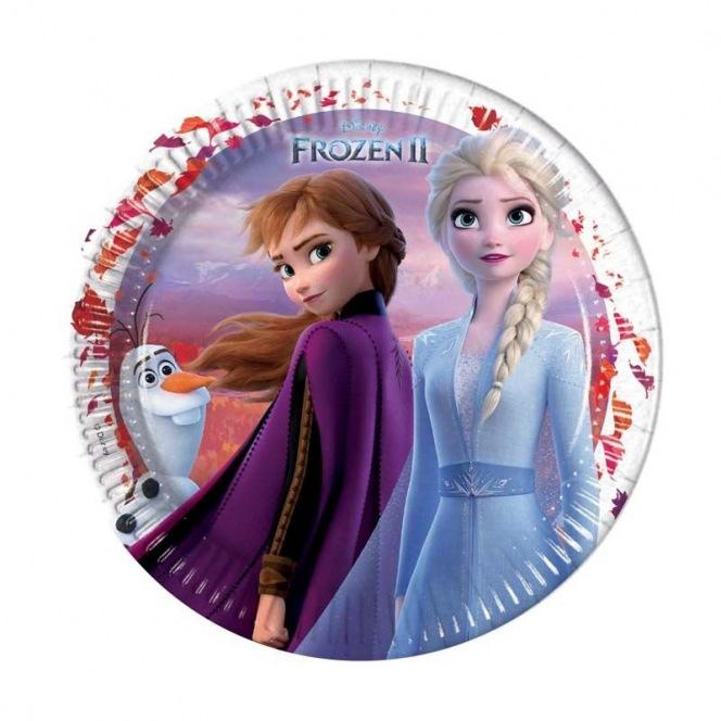 8 Paper plates - Frozen 2