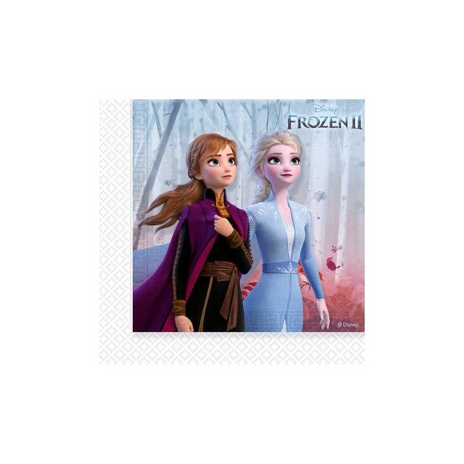 20 napkins - Frozen 2