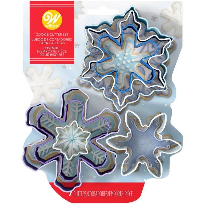 Snowflake Cutters/7pcs - Wilton
