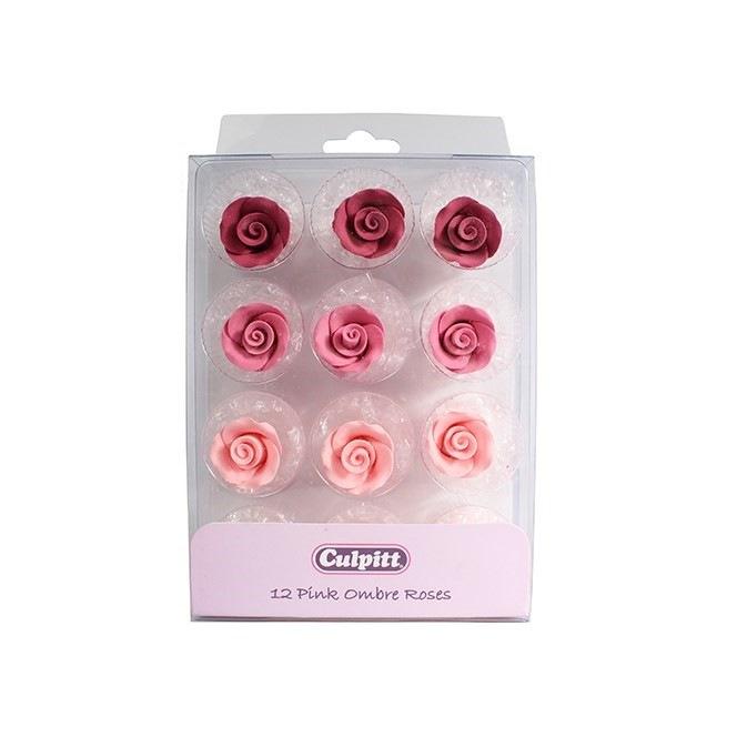 12 Sugar Roses - Ombre - Culpitt