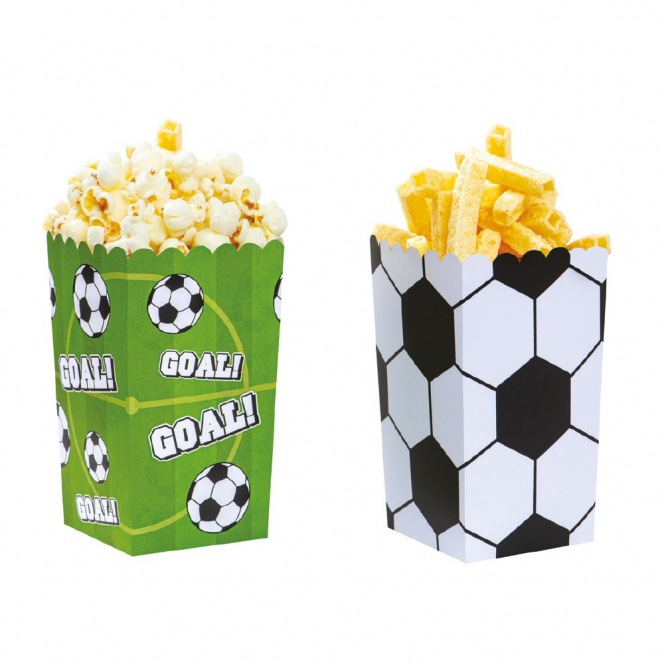 Party Box - Football - 6pcs - Decora