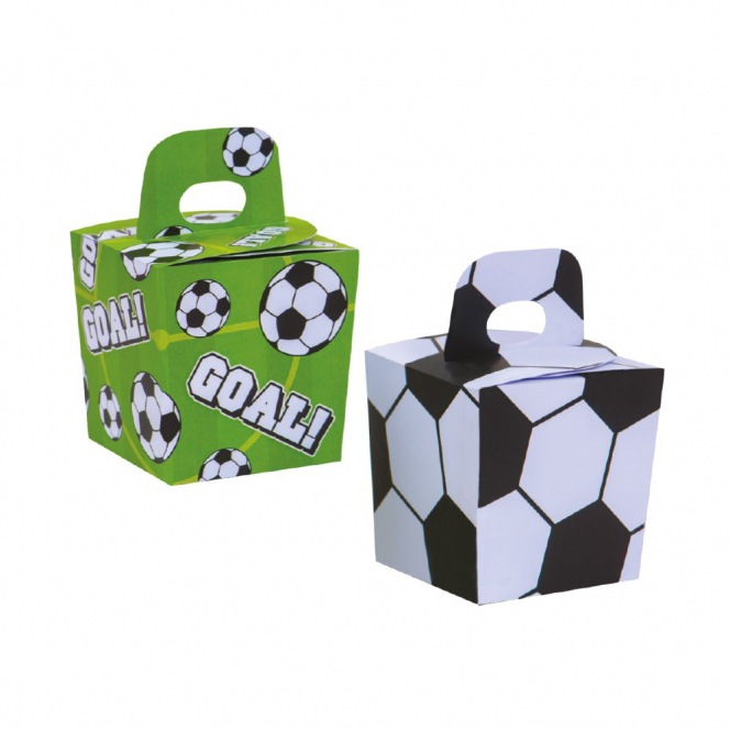 Candy Box - Football - 6pcs - Decora
