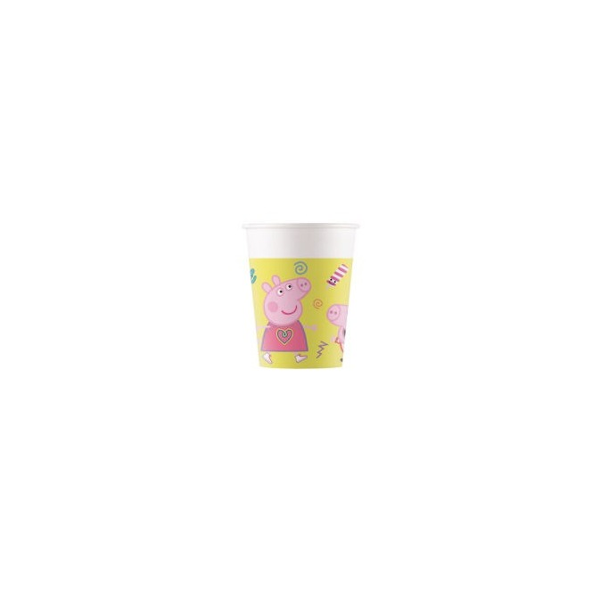 Paper Cups - 200ml - Peppa Pig - Procos