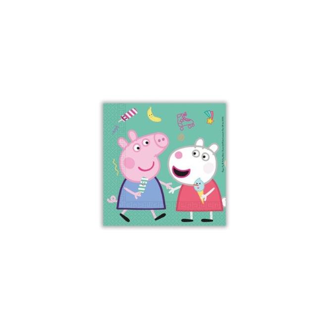Peppa Pig Napkins - 20pcs - Procos
