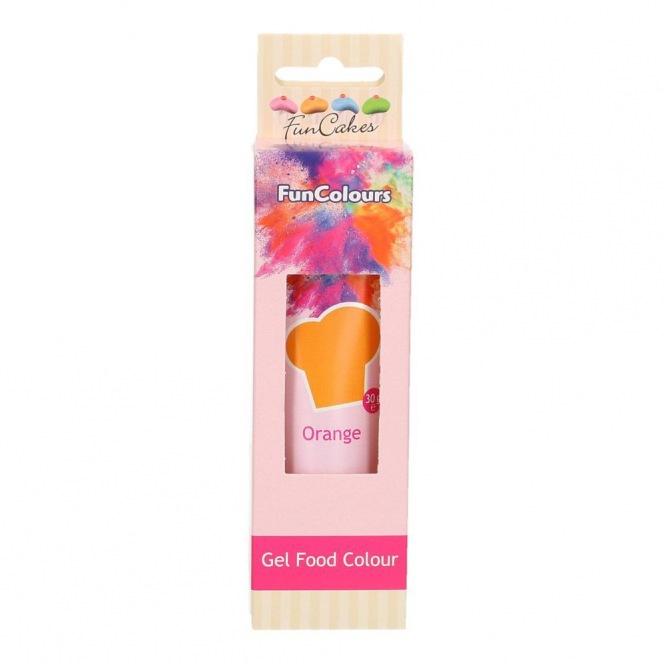 Gel Food Colour Orange - FunCakes