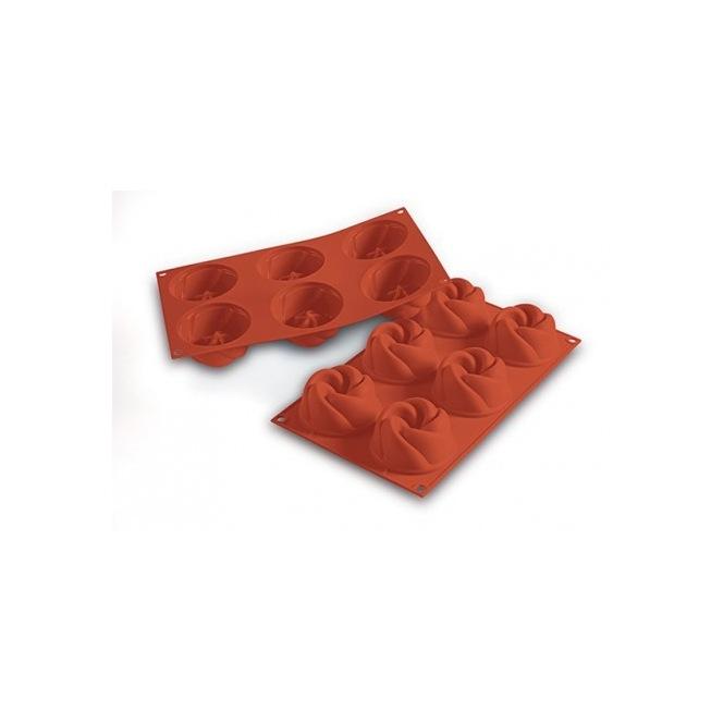 Silicone mold - 6 fancy prints - Silikomart
