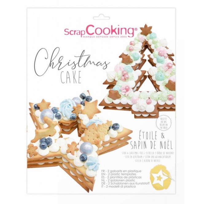 Christmas templates - Scrapcooking