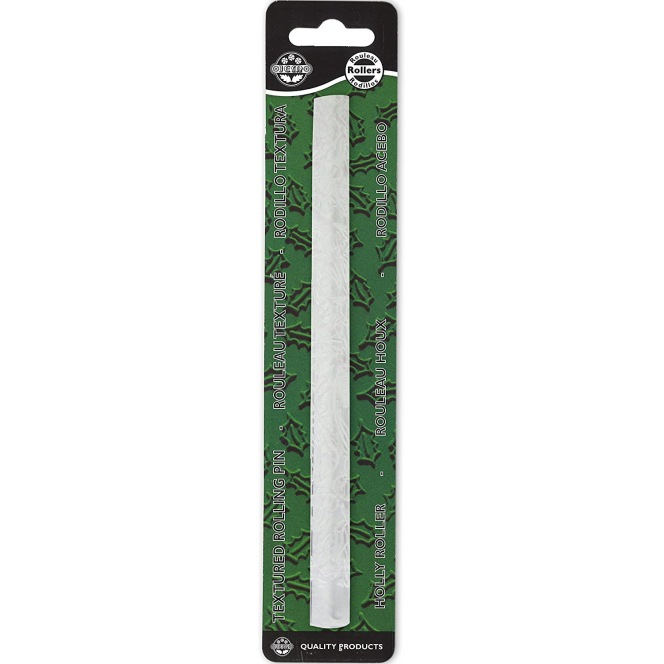 Texture Rolling Pin - Holly Leaf - JEM