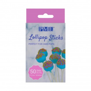Lollipop Sticks -11,5 cm- pk/50 - PME