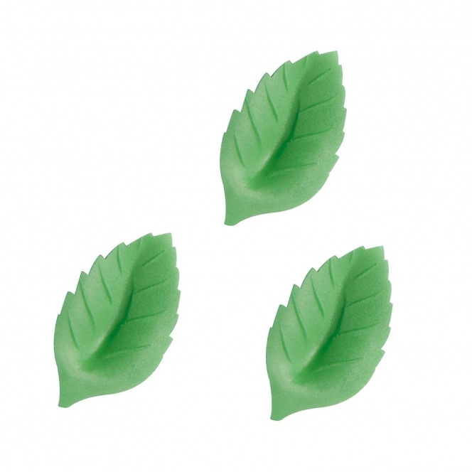 Wafer Rose Leaf 40mm/40pcs - DBS