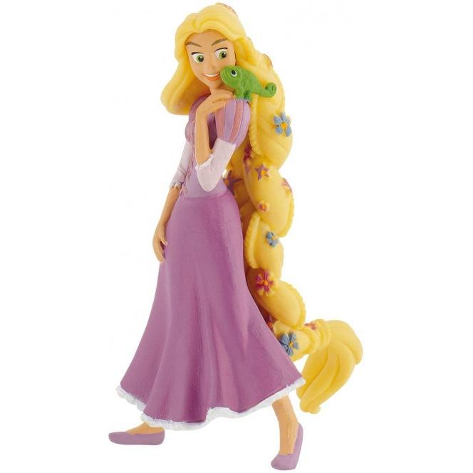 Rapunzel Figurine with Chameleon - Bullyland