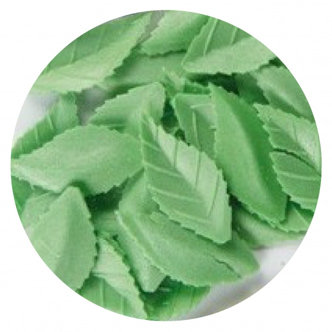 Wafer Rose Leaf 47mm/40pcs - DBS