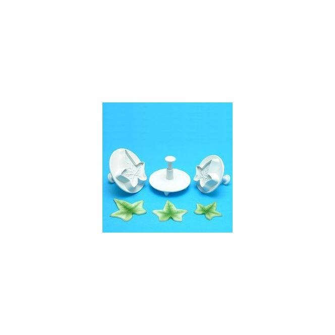 Découpoir mini étoile 3pc - PME
