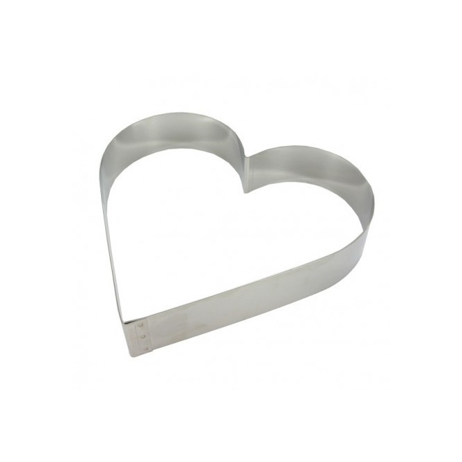 Heart Shaped Steel Ring