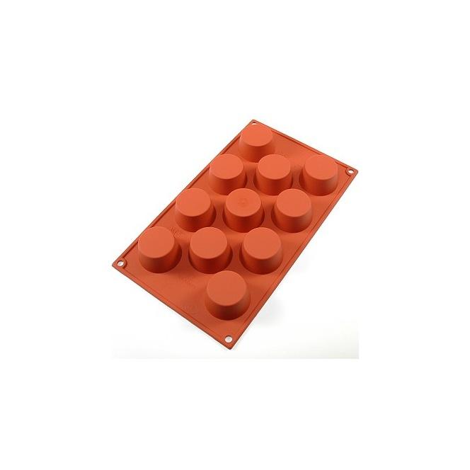Silicone mould 11 muffins - Silikomart