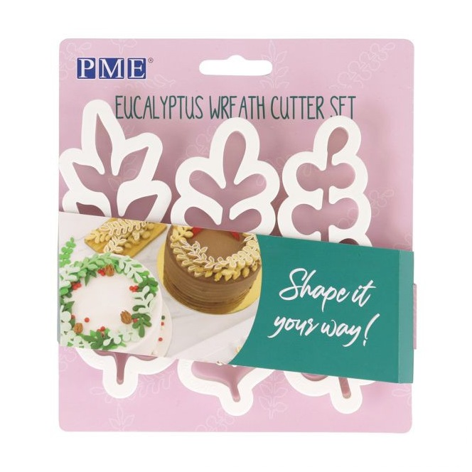 Wreath Eucalyptus cutter - Set 3 PME