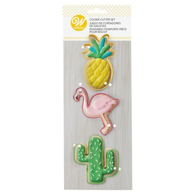 Cookie Cutters - Tropical - 3pc - Wilton