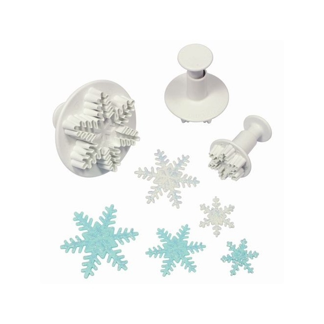 Snowflake Cutters - 3pc - PME