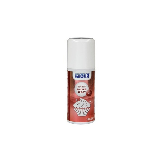 Lustre Spray RED 100ml PME