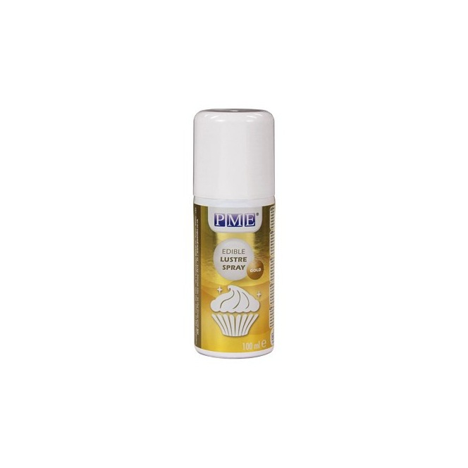 Edible glaze spray - Gold - 100ml - PME
