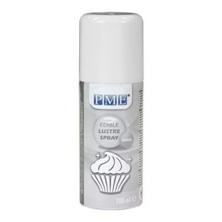 Edible glaze spray - Pearl - 100ml - PME