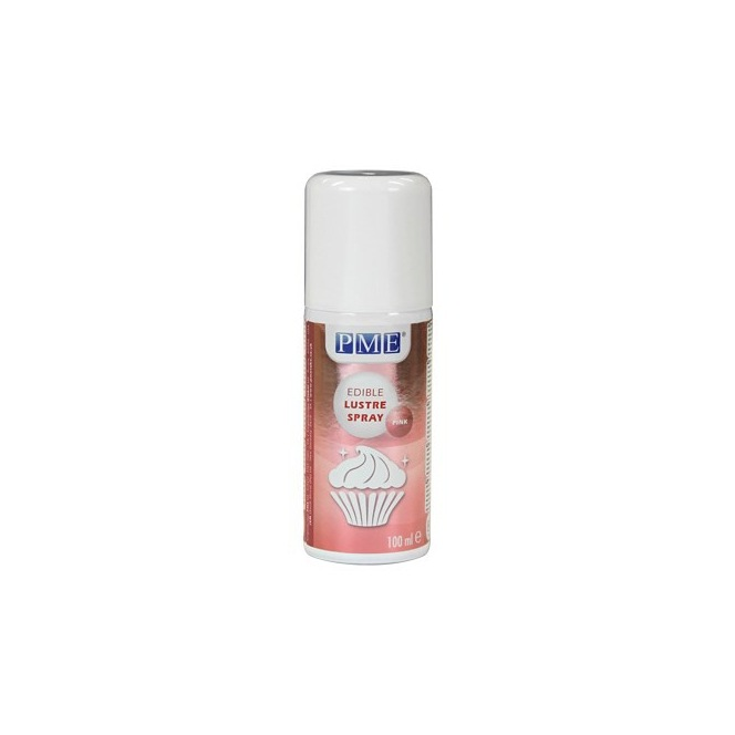 Lustre Spray PINK 100ml PME