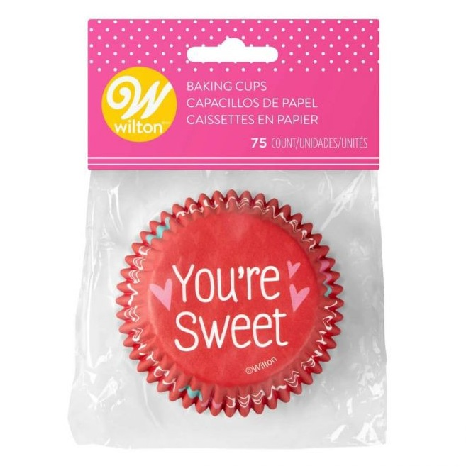 You're Sweet Baking Cups - 75pcs - Wilton