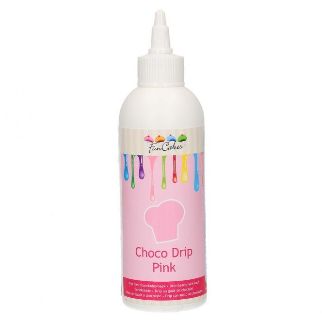 Choco Drip Pink - Funcakes