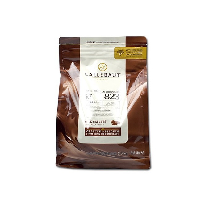 Callebaut Milk Chocolate Callets 2,5 kg