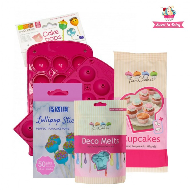 Easy cakepops kit