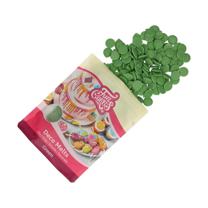 FunCakes Deco Melts - green  - 250g