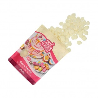 FunCakes Deco Melts -White- 250g