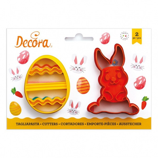 Cookie Cutters - Bunny & Egg - Decora