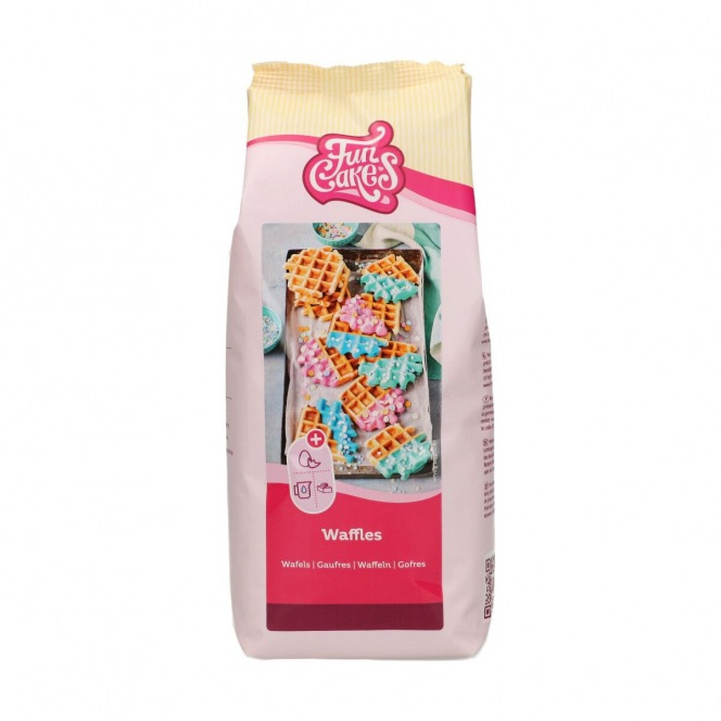 FunCakes Mix for Sweet Belgian Waffles 1kg