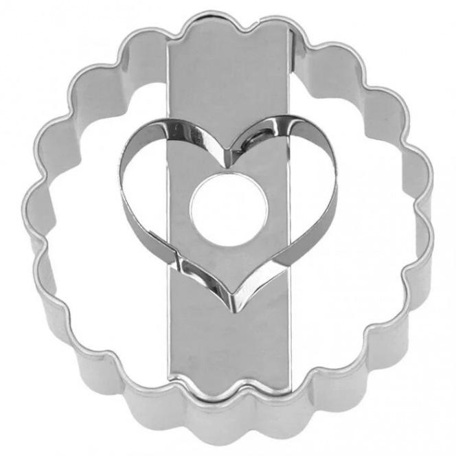 Cookie Cutter - Jam Cookie - Heart - Birkmann